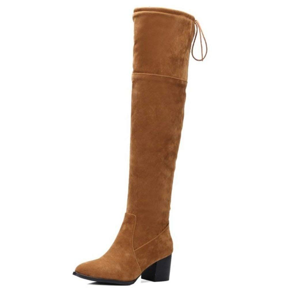 ce298cfcdf7 Smilice Large Size and Small Size Women Over the Knee High Boots with Block  Heel     Many thanks for viewing our photograph. (This is an affiliate  link)   ...