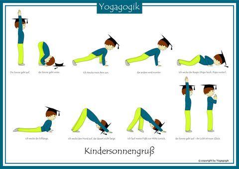 kindersonnengru reiseziele yoga for kids yoga und. Black Bedroom Furniture Sets. Home Design Ideas