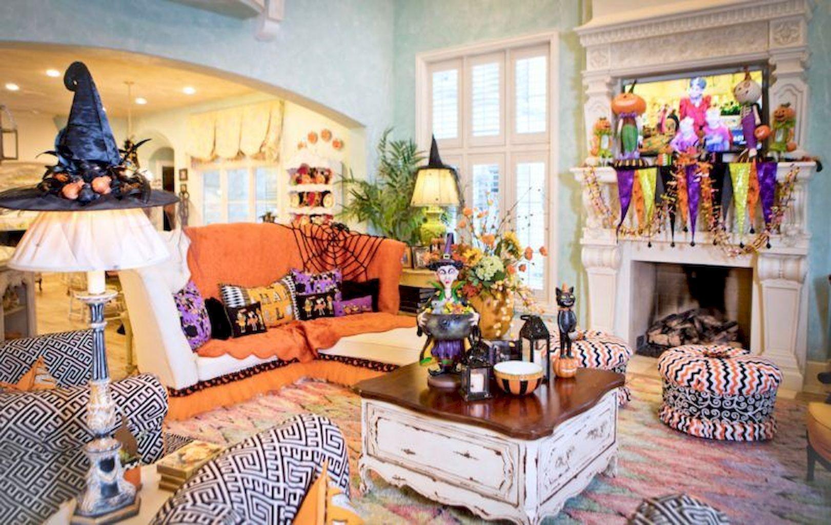 Superb Unforgivable Sins Of Halloween Living Room Decor Halloween Living Room Holiday Room Turtle Creek