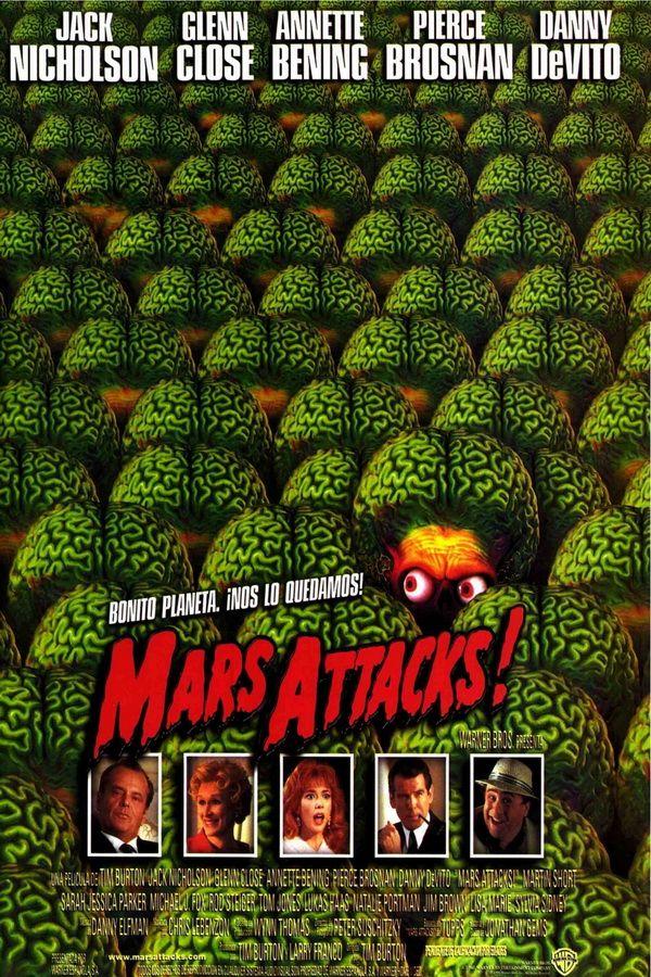 Resultado de imagen de typography mars attack