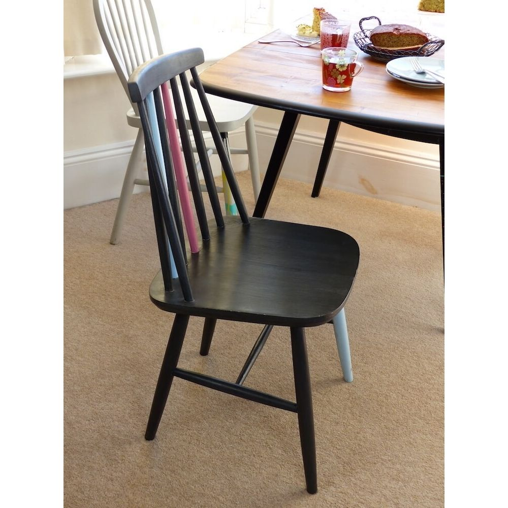 Ercol And Stick Back Chairs That Were Upcycled On The