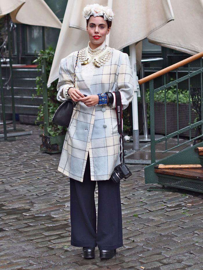 Karin Fashion week Stockholm - Street Style http://www.indiedays.com/item/toimitus/normcorea-vai-bling-blingia