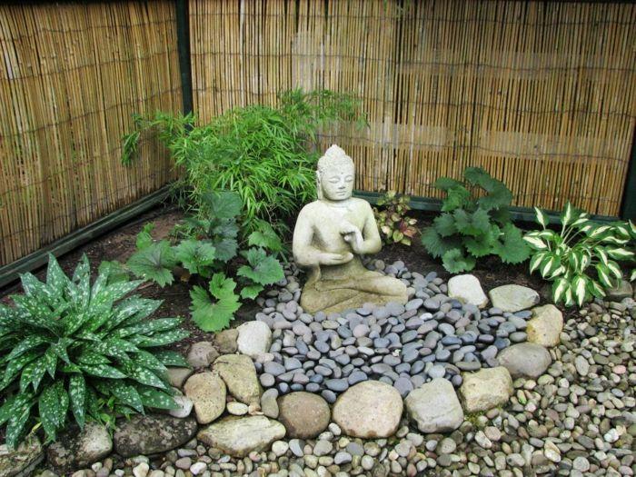 Garten Gestalten Bilder 39 Gartengestaltungsideen Die Kaum Muhe Erfordern Garten Gestalten Steingarten Gestalten Garten Design