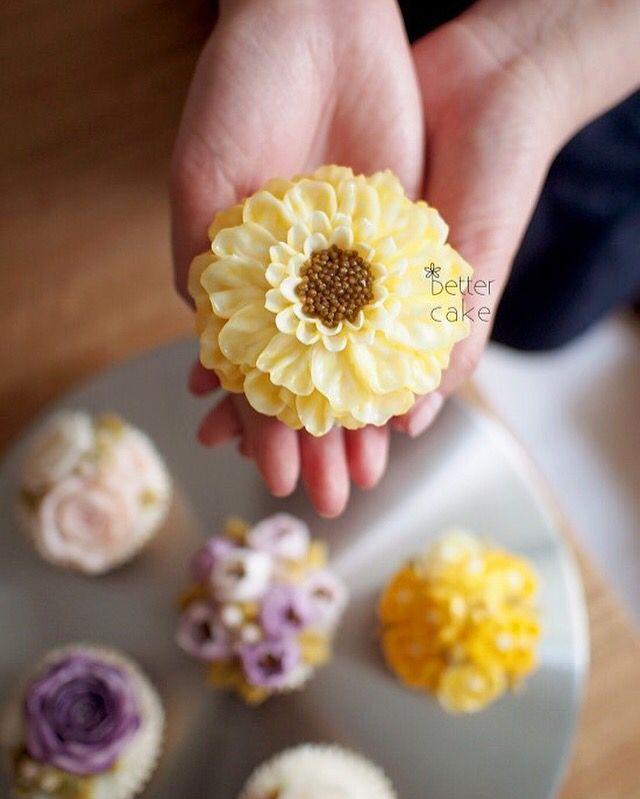 Done by me . www.better-cakes.com #buttercream#cake#korea#baking#koreanbuttercream#bettercake#버터크림케이크#베러케이크#yummy#flower#꽃#sweet#플라워케익#foodporn#birthday#wedding#디저트#foodie#dessert#버터크림플라워케이크#follow#food#koreancake#beautiful#flowerstagram#instacake#like#꽃스타그램#koreastyle#instafood#