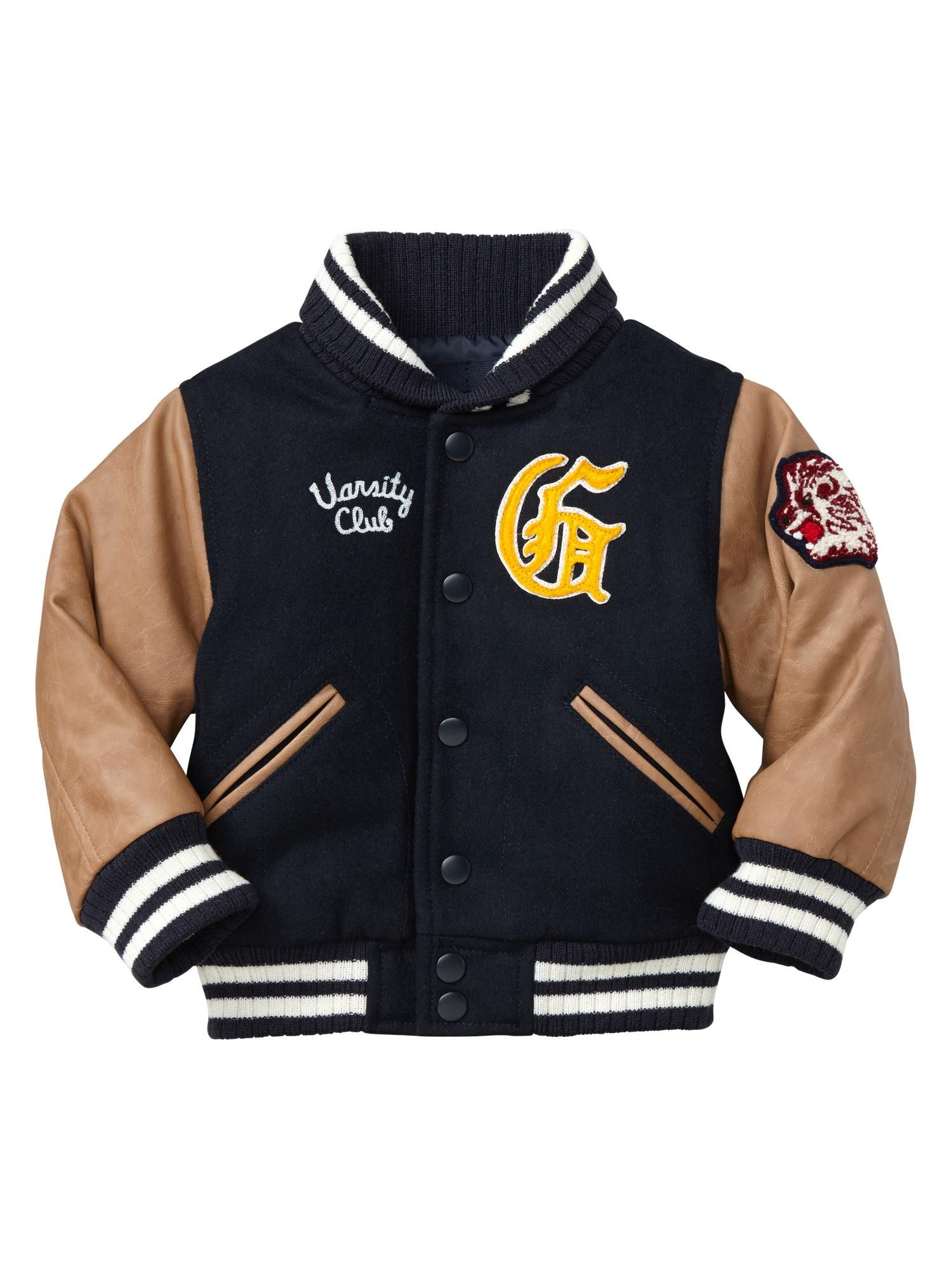 c096c9d939b4 Gap - Toddler Varsity Jacket