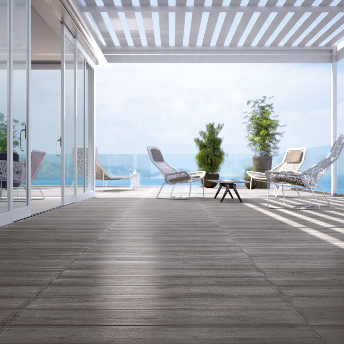 Carrelage Imitation Parquet Pour Sol Exterieur Wood Espace Aubade Carrelage Terrasse Terrasse Design Carrelage Exterieur