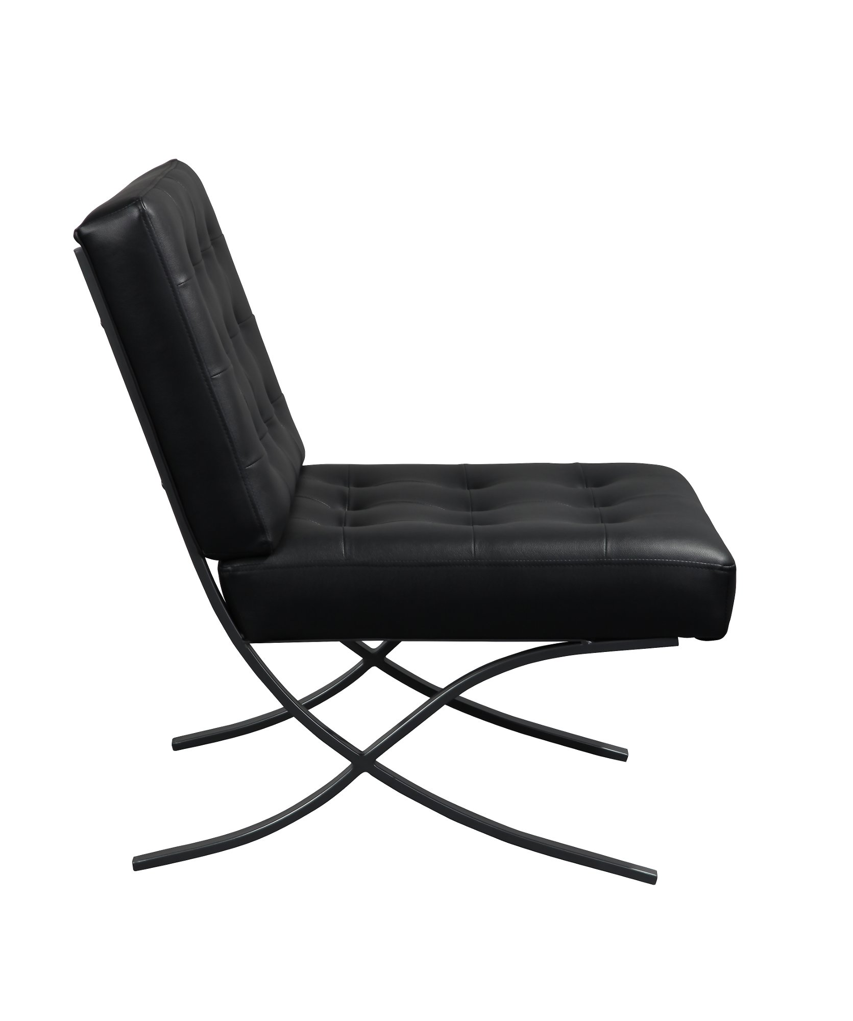 Black Relax A Lounger Chair And Ottoman Set Princeton Chair Ottoman Set Chair Ottoman Chair