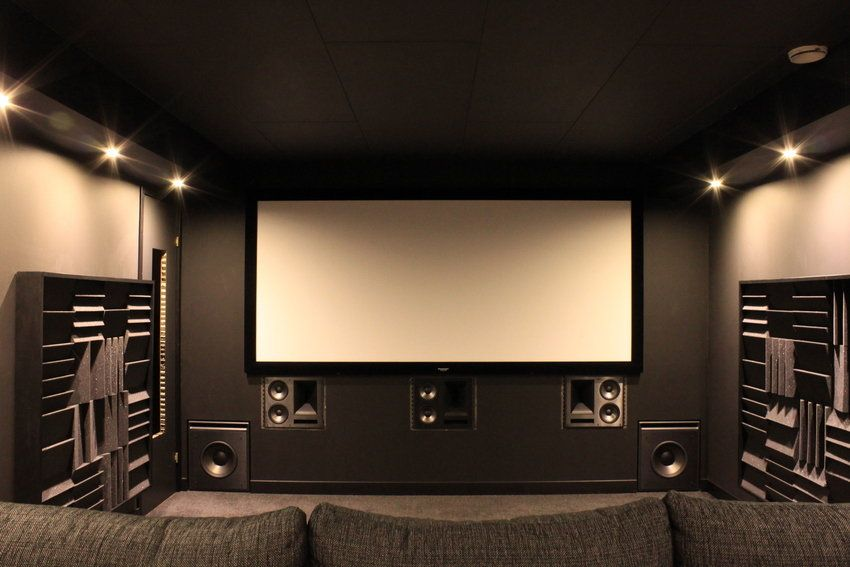 Small Movie Room Home Theaters