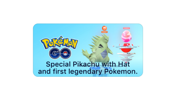 iOS App Store mentions legendary Pokemon for Pokemon GO