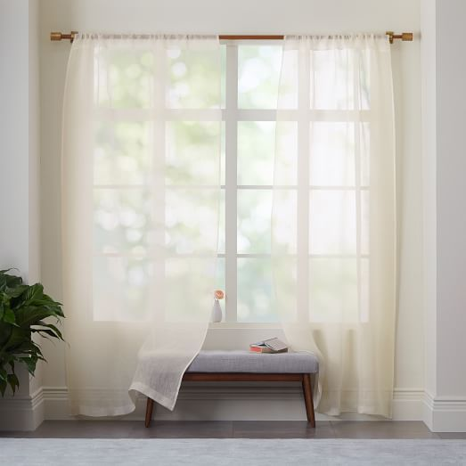 multi sheer curtain double panel white pleated x dp top home iyuego one with curtains kitchen amazon linen w solid l custom size com