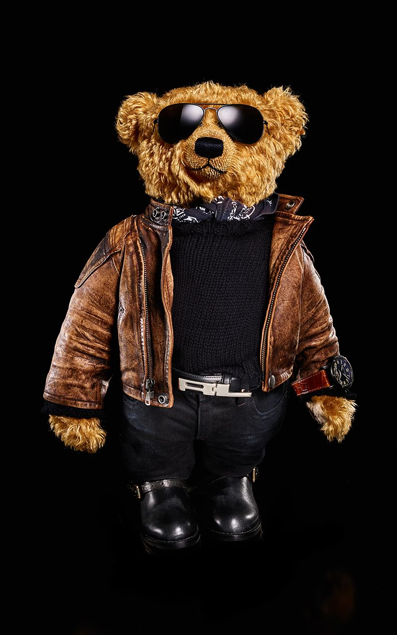 9fbf9d7a RL Mag - The Best-Dressed Bear in the World | RALPH in 2019 | Polo ...
