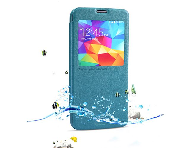 Brand New Nillkin Leather Cover Case For Samsung Galaxy S5 Samsung Galaxy S5 Galaxy S5 Leather Cover