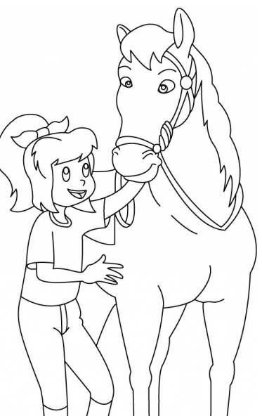 Bibi Und Tina 10 Coloring Pages Art Pages Coloring Books