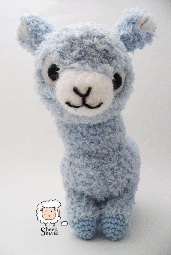 Crochet Alpaca Amigurumi Pattern (PDF format) | Amigurumi stuffed ...