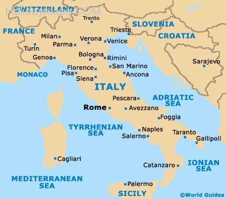 nice Map of italy near pisa | Holidaymapq | Pinterest | Italy map