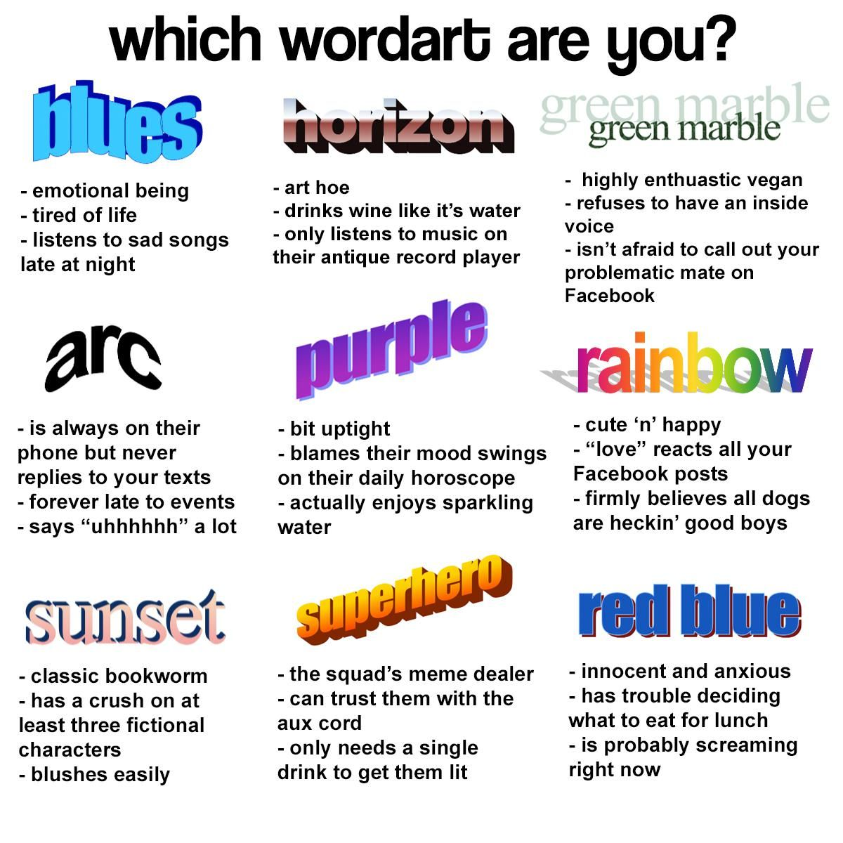 I'm blues and red blue Tag yourself meme, Clean memes, Memes