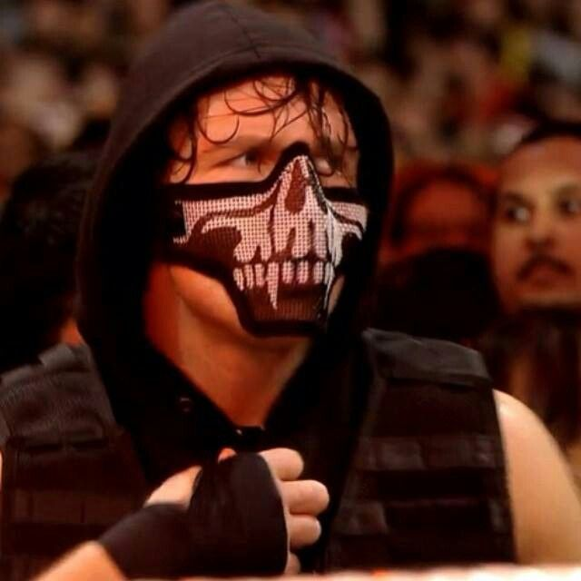 Dean Ambrose With Mask! I Love It!