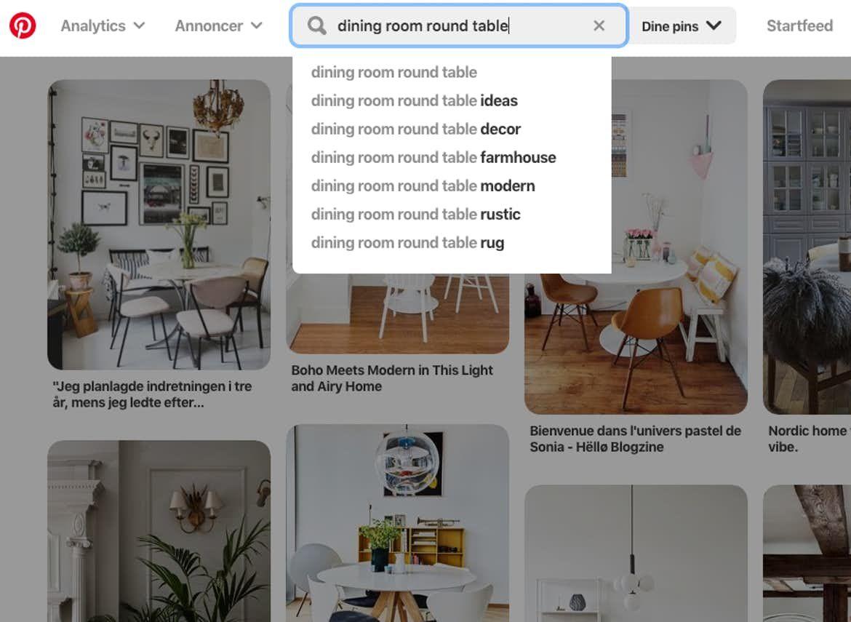 Undgå at begå denne Pinterest-fejl, når du skal finde boliginspiration | Boligmagasinet.dk