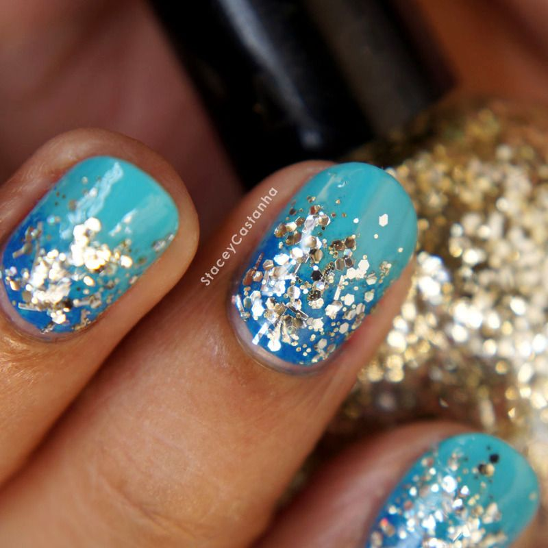 Nailpolis Museum Of Nail Art Glitter Gradient By Stacey Castanha