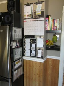 Kitchen Command Centre Reveal | Organization Station, Dollar Stores And  Organizations