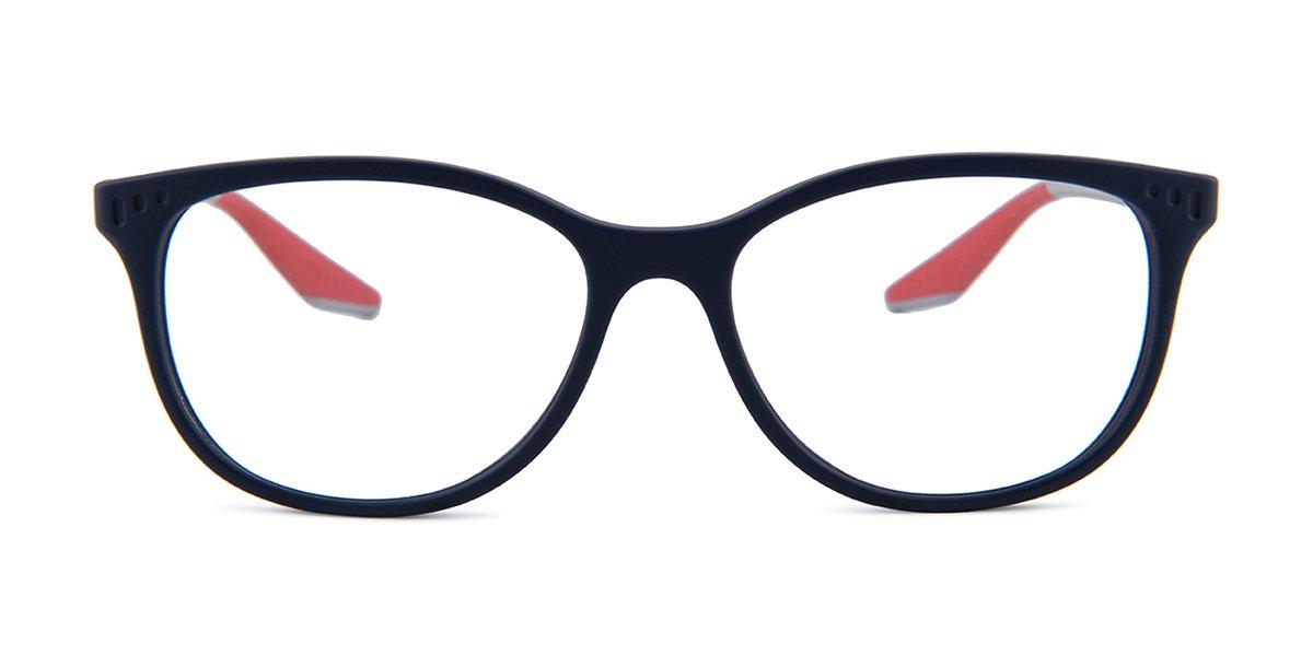 1fd3232f84de Prada Sport PS03L Blue   Clear Lens Eyeglasses