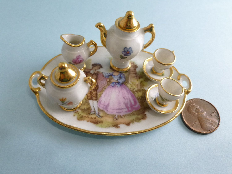 Limoges Porcelain (France) — Doll Tea Service (1500x1125) | mini tea ...