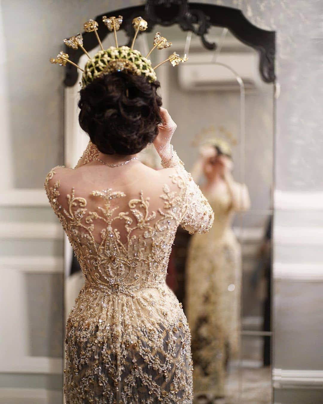 Kebaya Anti Mainstream Untuk Pernikahan Yang Terlupakan Gaun Pengantin Gaya Pengantin Pengantin Wanita
