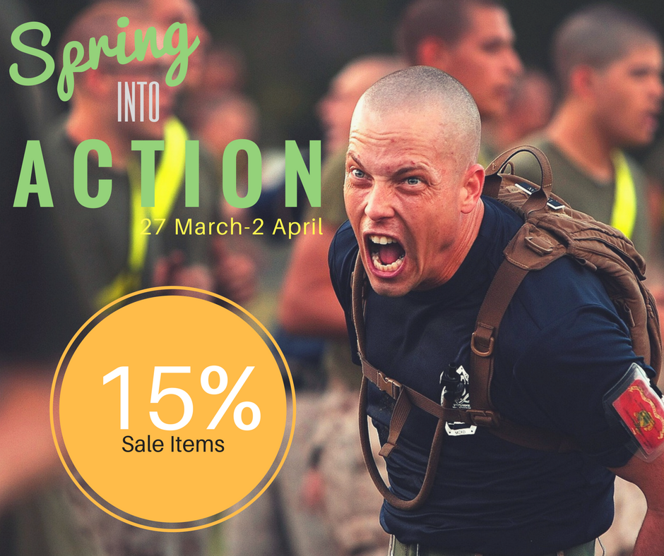 Spring into Action with an additional 15 off on all sale