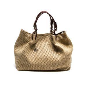 Kožená kabelka Isabella Rhea 8019 Fango  f4f1ead06fc