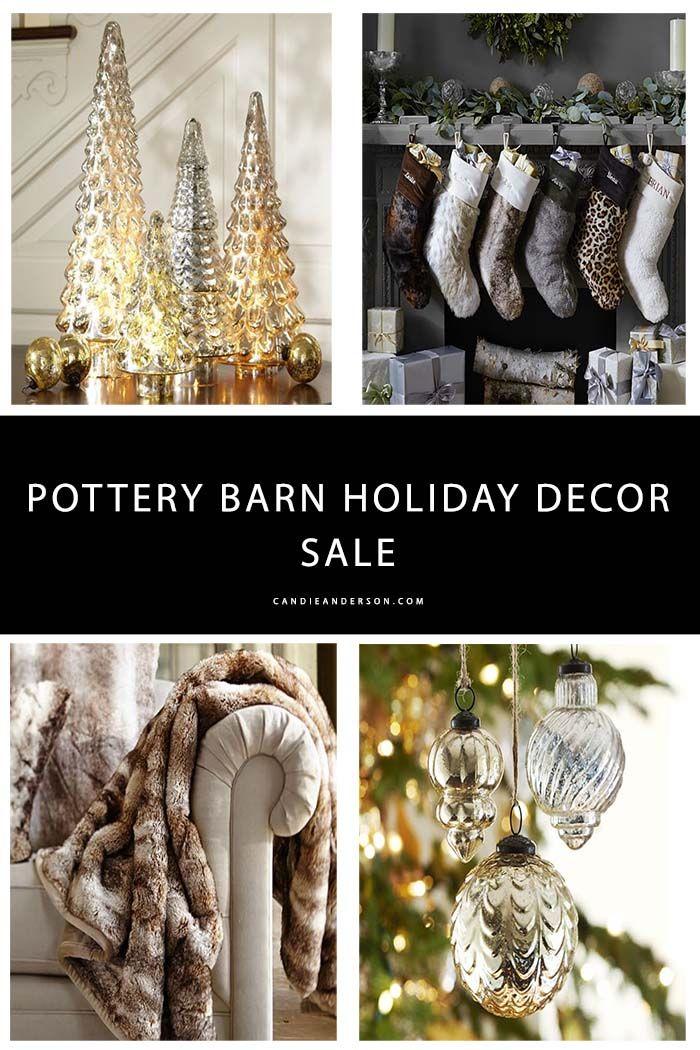 Pottery Barn Christmas Decorations, Mercury Home Decor and More 30 - christmas decorations sale