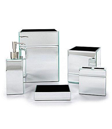 J queen new york mirage bath accessories dillards lauren and brandon bathroom pinterest for Dillards bathroom accessories sets