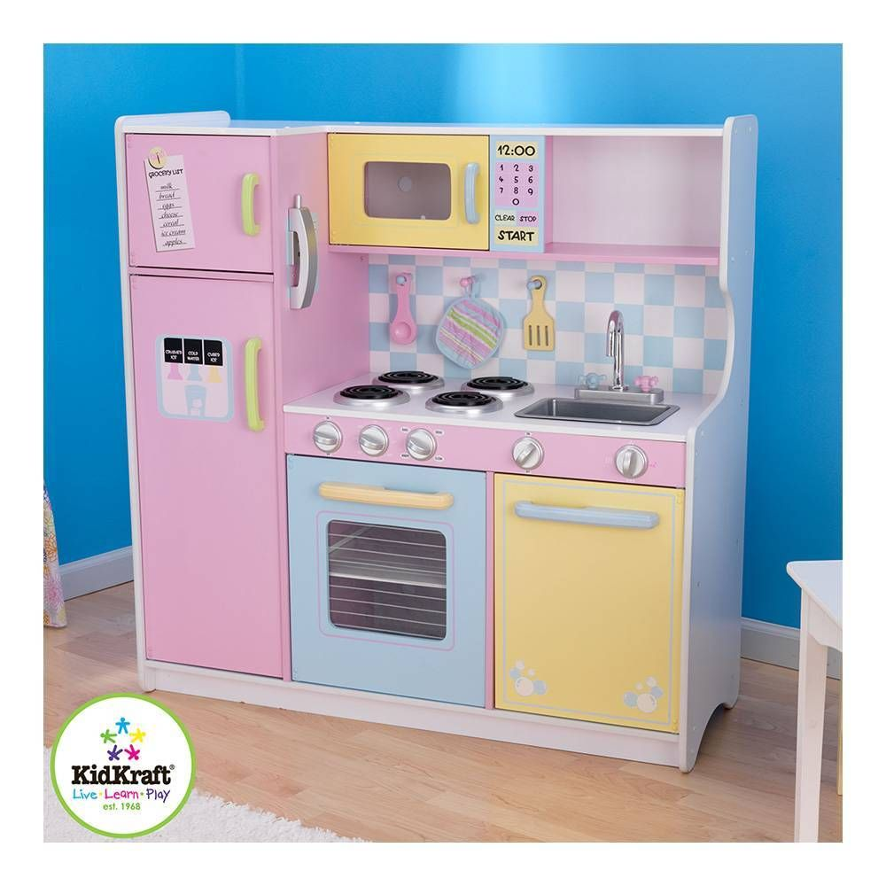 Gran Cocina KidKraft Pastel | Childhood | Pinterest | Cocina ...