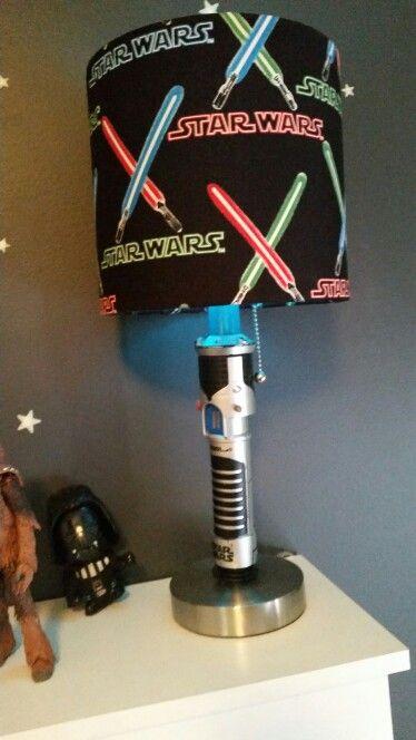Star Wars lamp - déco chambre bébé   Pinterest - Troy, Zolder en ...