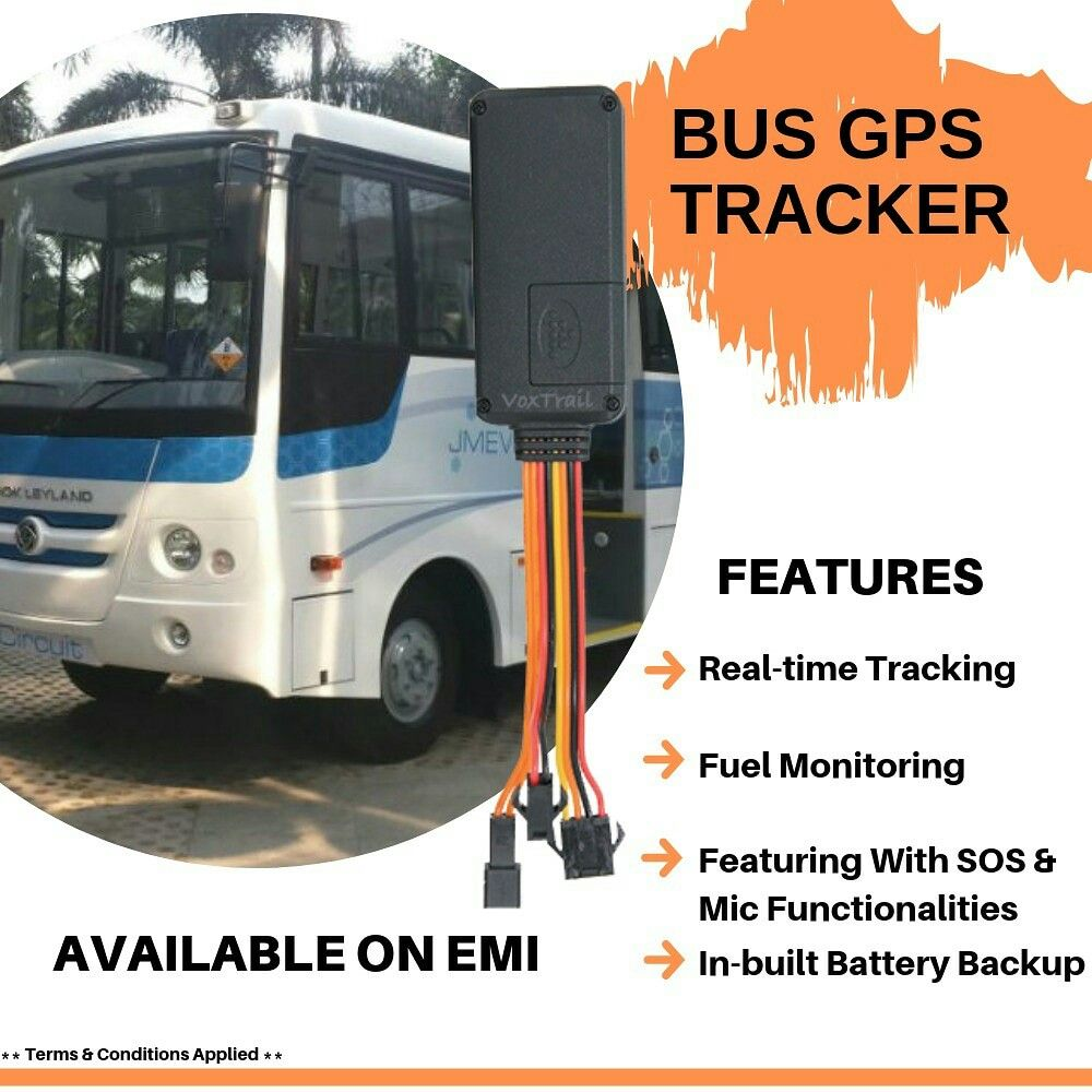 It is a powerful GPS tracking device best suitable for cars,buses