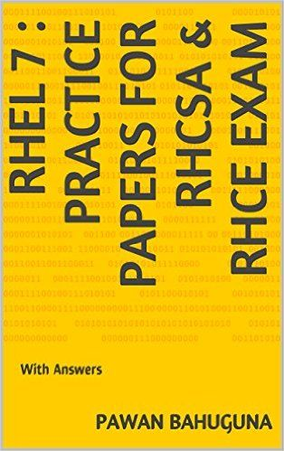 RHEL 7: Practice Papers for RHCSA & RHCE Exam | Pics I like | Paleo