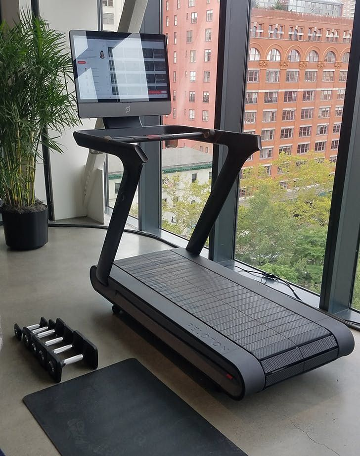 Can You Watch Tv On Peloton These 3 Women All Tried The Peloton Tread Here S What They Thought Purewow Health Running Review Workout Fitness Good Treadmills Workout Rooms Home Gym