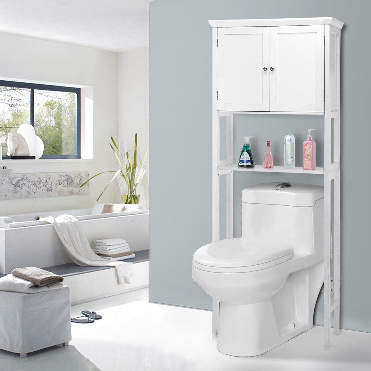 Icon luxury designer fixures giantex toilet storage space saver