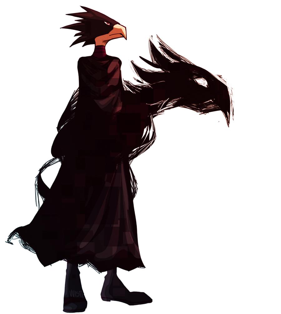 Tokoyami Fumikage (Boku no Hero Academia | animated heart on my