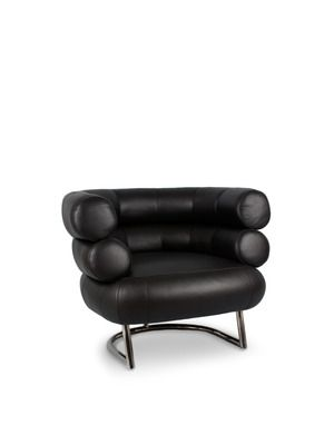 MCM Leather Lounge Chair By Control Brand On Gilt Home