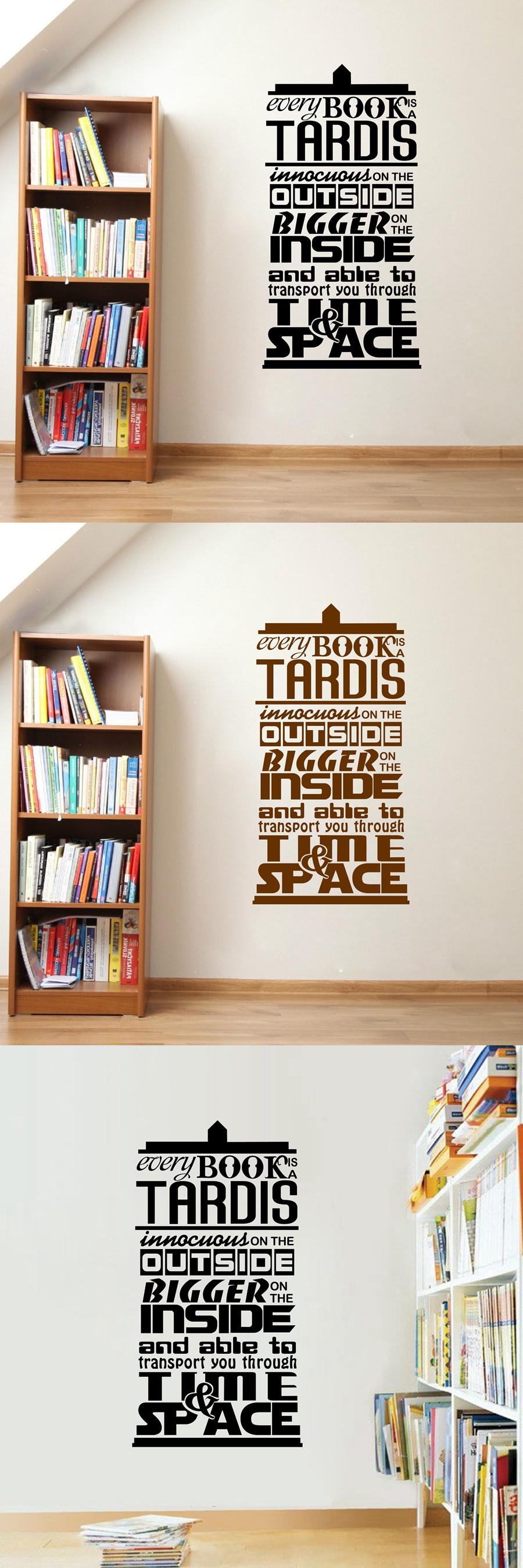 Visit to buy doctor who inspired quote vinyl wall sticker every visit to buy doctor who inspired quote vinyl wall sticker every book amipublicfo Choice Image
