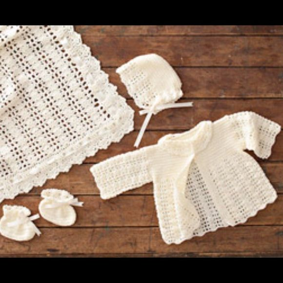 All white outfit Girls, three pieces, Christianizing outfit, also great for gifts Other #uncinettoperbambina