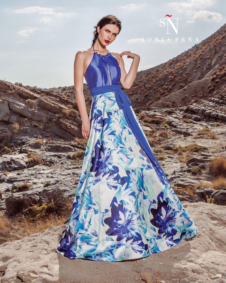 Uno de mis vestidos favoritos de Sonia Peña . Ref: 1170273 | Azul ...
