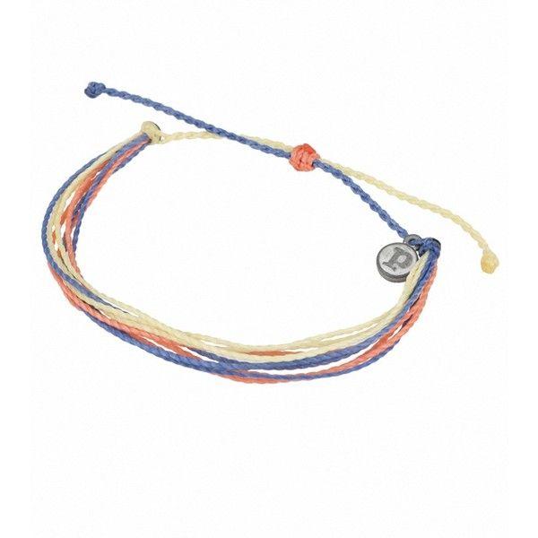 Pura Vida Superior Sandcastle Bracelet ($3.99) ❤ liked on Polyvore featuring jewelry, bracelets, pura vida jewelry, charm bangle, charm jewelry, adjustable bangle and pura vida