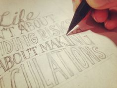 learn-hand-lettering step by step