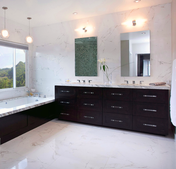 Master Bath Tile Porcelanosa Faux Marble Polished 24x24 Rectified 12 50 Sqft Available In Vancouver At