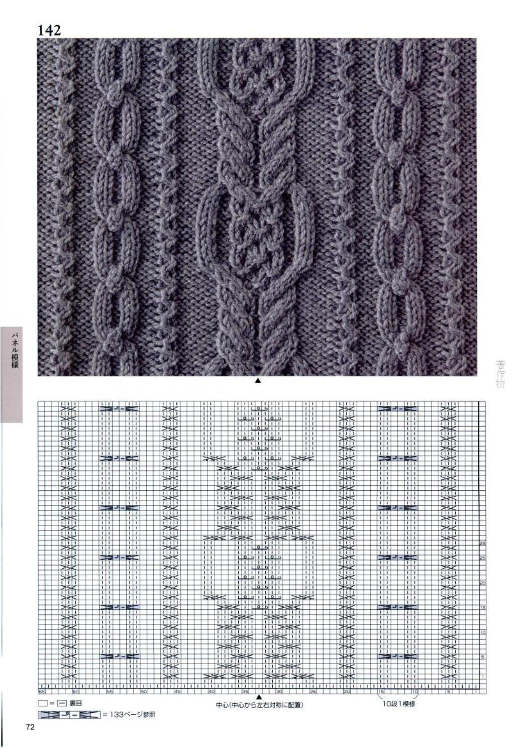 patrones japoneses para hacer punto con los esquemas para el sitio ...