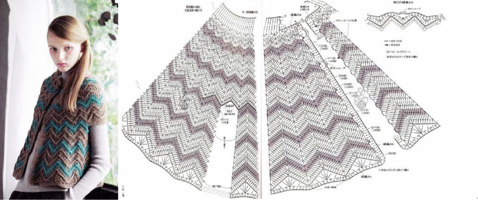 Patrones Crochet: Capas | ponchos | Pinterest | Croché, Ganchillo y ...