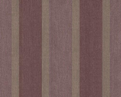 Vliestapete Bohemian Streifen violett bei HORNBACH kaufen