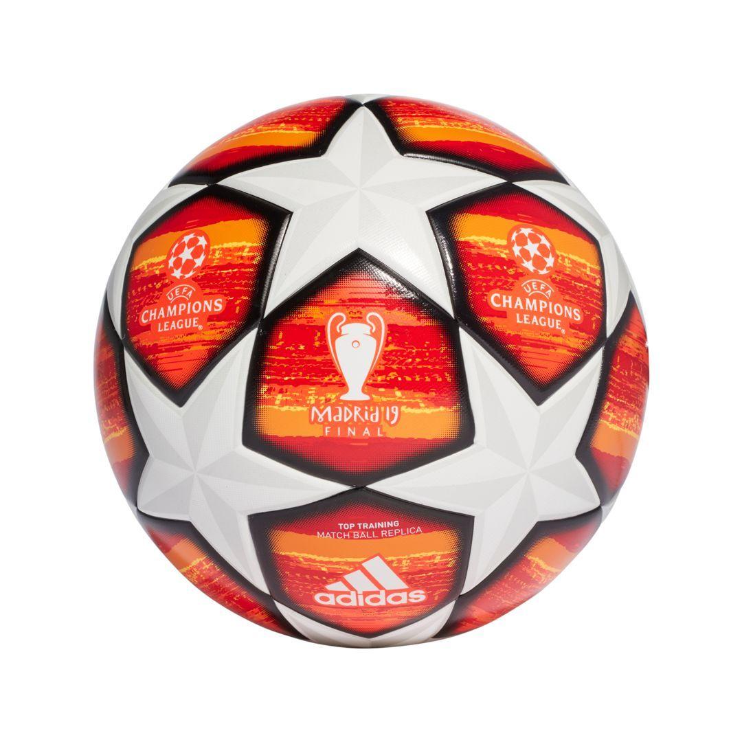 bda0237a61d51 adidas Uefa Champions League Finale Madrid Top Training Soccer Ball, White