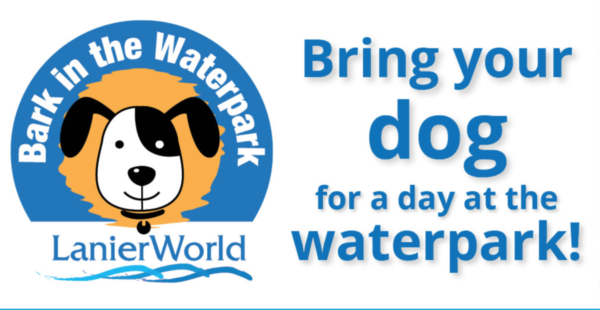 Bring your dog for a day at the waterpark on October 7